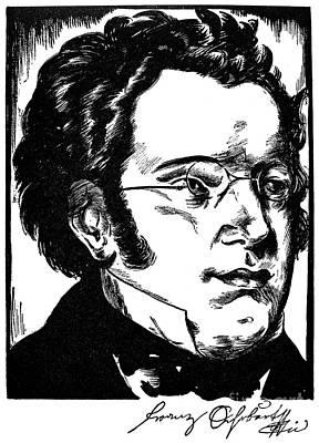 Franz Schubert (1797-1828) Poster