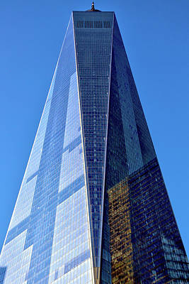 Poster featuring the photograph Freedom Tower by Mitch Cat