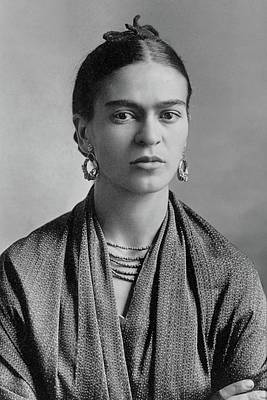 Poster featuring the painting Frida Kahlo by Pg Reproductions