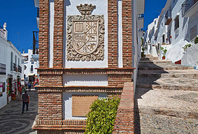 Frigiliana Street Scene, Costa Del Sol Poster by Panoramic Images