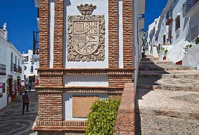Frigiliana Street Scene, Costa Del Sol Poster