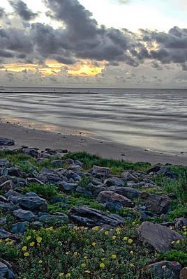 Galveston Sunrise Poster by Robert Brown
