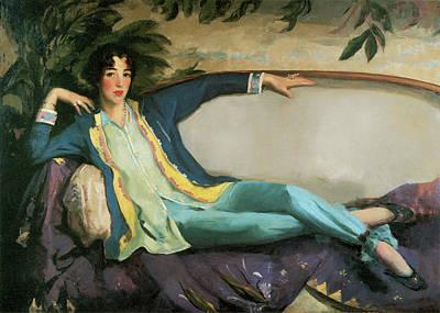 Gertrude Vanderbilt Whitney Poster by Robert Henri