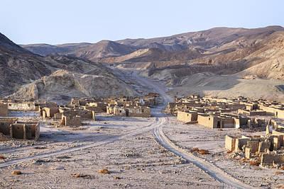 ghost city Umm el Howeitat - Egypt Poster