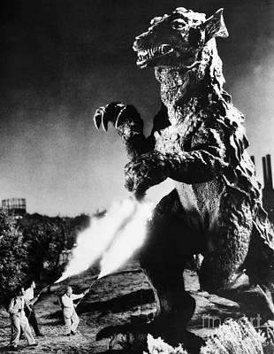 Godzilla Poster by Granger