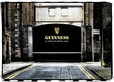 Guinness Poster by David Harding