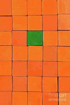 Handicraft Cubes Poster