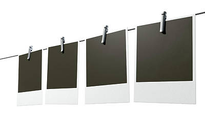 Hanging Instant Photograph Gallery Poster