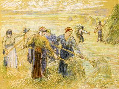 Haymaking Poster