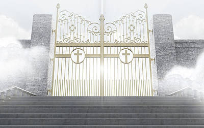 Heavens Gates Poster
