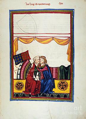 Heidelberg Lieder, 14th C Poster by Granger