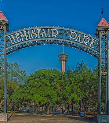 Hemisfair Park - San Antonio Poster by Mountain Dreams