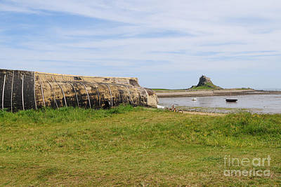 Holy Island Of Lindisfarne Poster