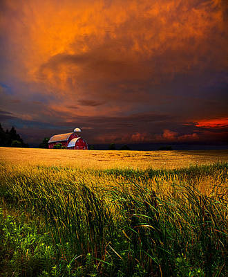 Homestead Poster by Phil Koch