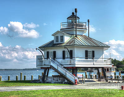 Hooper Strait Lighthouse Poster by Greg Hager