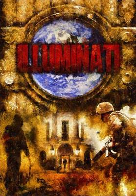 Illuminati Poster by Esoterica Art Agency