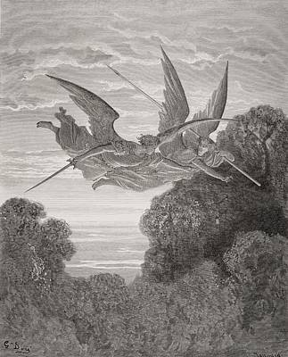 Illustration By Gustave Dore 1832-1883 Poster by Vintage Design Pics