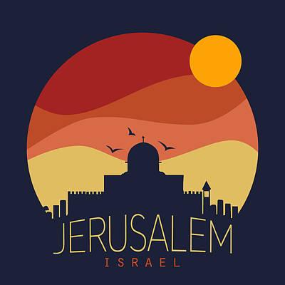 Israel  Poster by Mark Ashkenazi