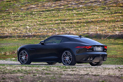 Poster featuring the photograph #jaguar #f-type #print by ItzKirb Photography