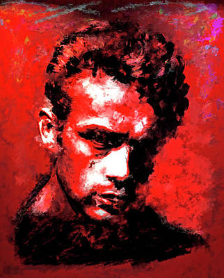 James Dean Poster by Brian Tones