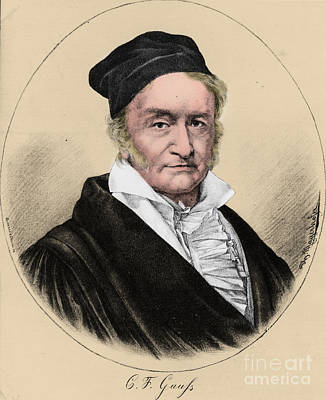 Johann Carl Friedrich Gauss, German Poster by Science Source