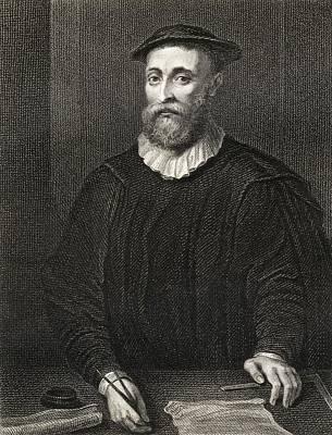 John Knox C.1514-1572. Leader Of Poster by Vintage Design Pics