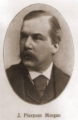 John Pierpont Morgan, 1837-1913 Poster by Everett