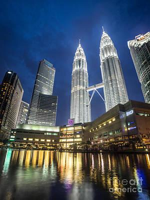 Kuala Lumpur Petronas Towers Poster