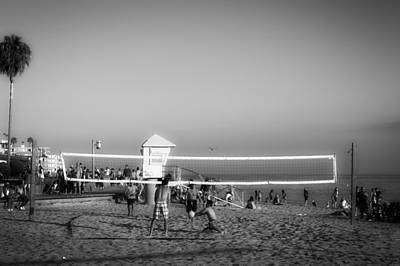 Laguna Beach Volleyball Poster by Mountain Dreams