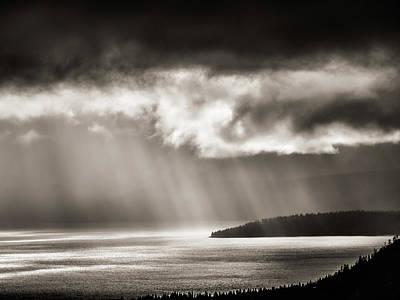 Lake Tahoe Storm Poster