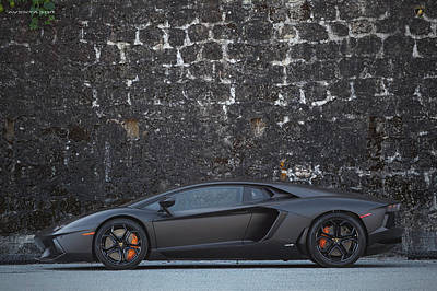 Poster featuring the photograph #lamborghini #aventador  by ItzKirb Photography