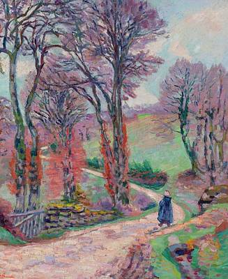 Landscape Of The Creuse Poster by Armand Guillaumin