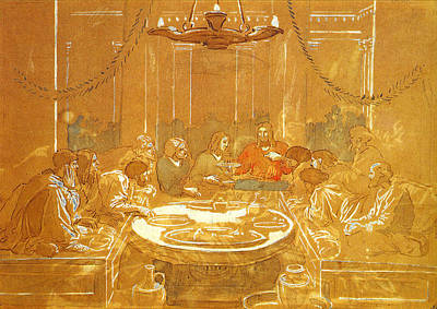 Last Supper Poster by Alexandr Ivanov