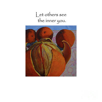 Let Others See The Inner You Title On Top Poster
