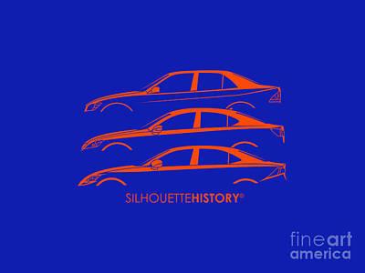 Lexury Silhouettehistory Poster