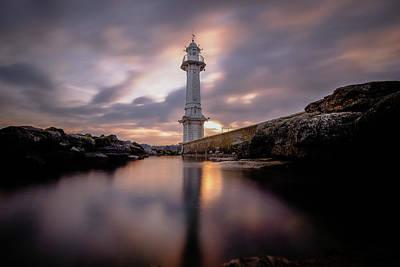 Lighthouse Poster by Okan YILMAZ