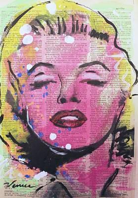 Marilyn Monroe Poster by Venus