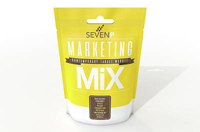 Marketing Mix 7 P's Poster