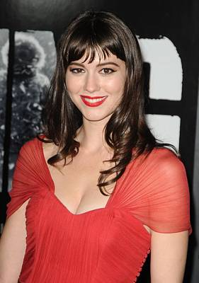 Mary Elizabeth Winstead At Arrivals Poster by Everett