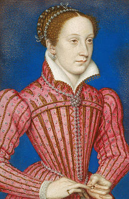 Mary, Queen Of Scots Poster by Francois Clouet