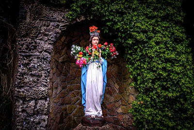 Mary Statue - Knock Shrine - Knock Ireland Poster