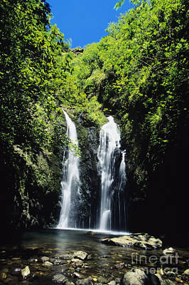 Maui Waterfall Poster by Dave Fleetham - Printscapes