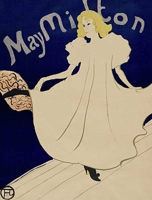 May Milton Poster by Henri de Toulouse-Lautrec
