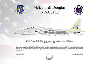 Mcdonnell Douglas F-15a Eagle Poster