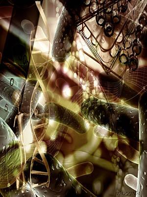 Poster featuring the digital art Medils Art by Danica Radman