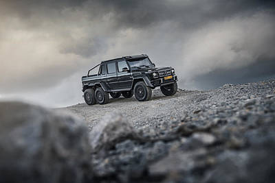 Mercedes G63 6x6 In Oman Poster