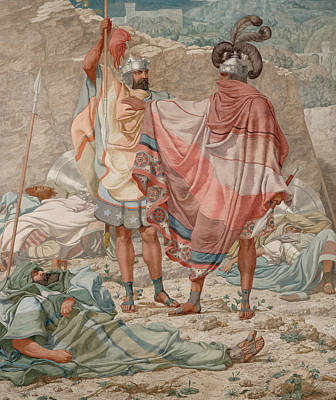 Mercy - David Spareth Saul's Life Poster by Richard Dadd