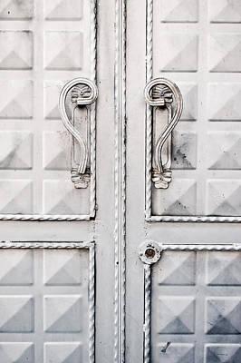 Metal Door Poster by Tom Gowanlock