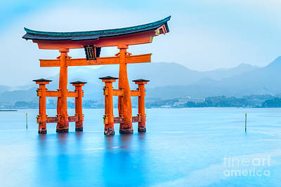 Miyajima Torii Gate - Japan Poster