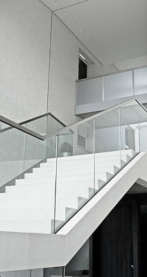 Modern Stairs Poster by Tom Gowanlock